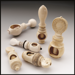 Nutcrackers made of Ivory
